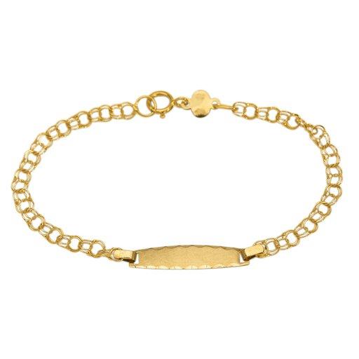 Armband i 18K guld 14cm