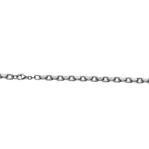 Halslänk i äkta silver 50cm