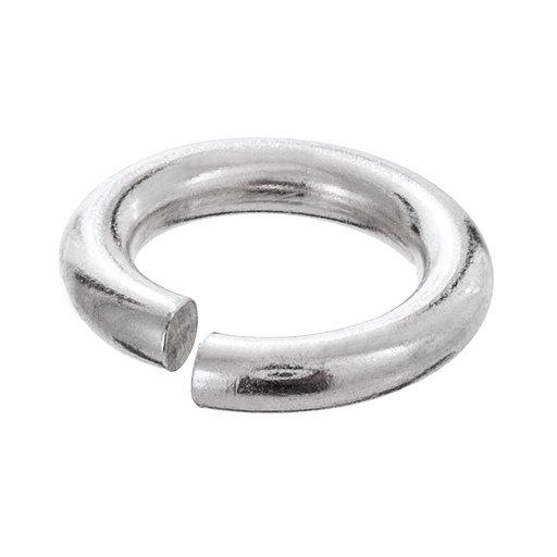 Bindögla styck i silver