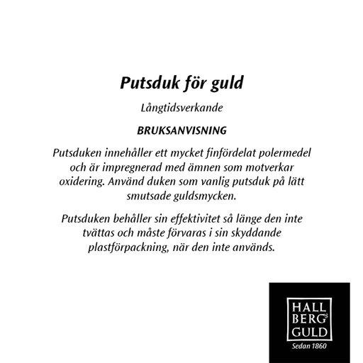 Miniputsduk för guldsmycken