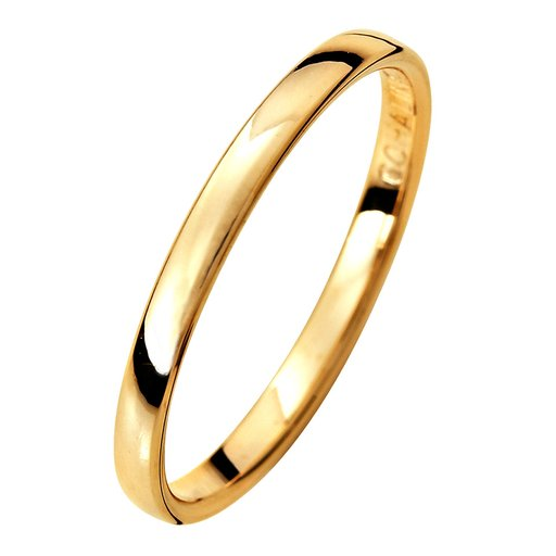 Förlovningsring i 9K guld 2mm