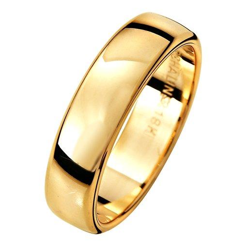 Förlovningsring i 9K guld 5mm