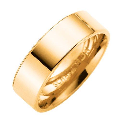 Förlovningsring i 9K guld 6mm