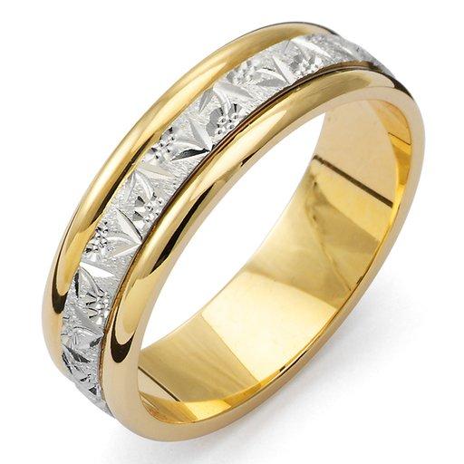 Förlovningsring i 18K guld 5.5mm