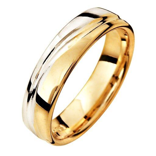 Förlovningsring i 18K guld 5mm