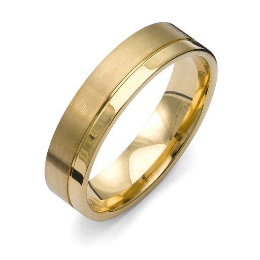 Förlovningsring i 18K guld 5,5mm