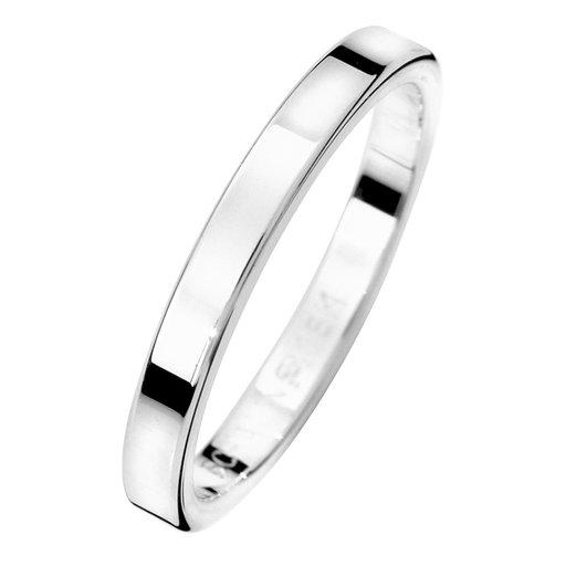 Förlovningsring i äkta silver 2,5mm