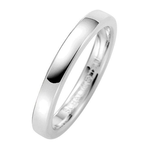 Förlovningsring i äkta silver 3mm