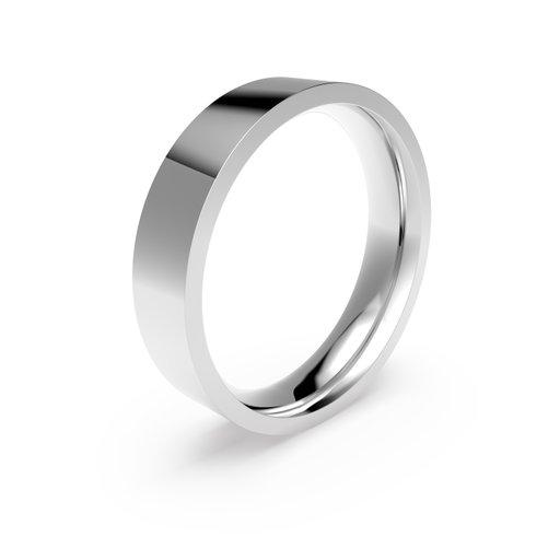 Förlovningsring i platina 5mm