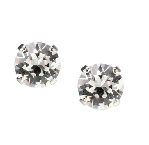 Örhängen med swarovskikristaller