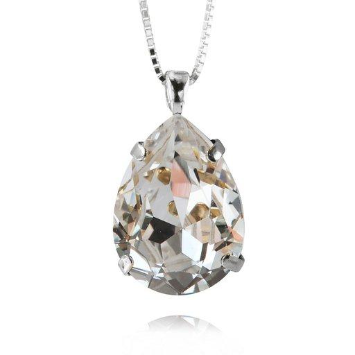 Halsband med swarovskikristall