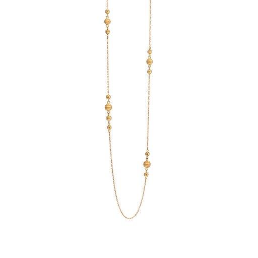 Halsband i 18K guld 80cm