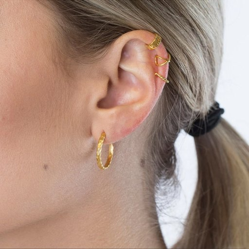 Örhängen/earcuffs i äkta silver