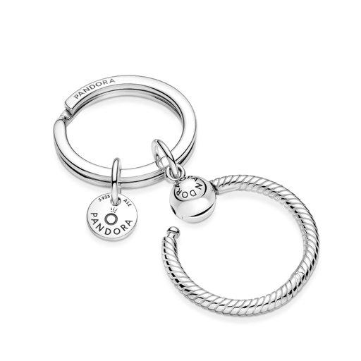 Nyckelring i äkta silver