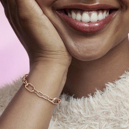 Armband i rosé
