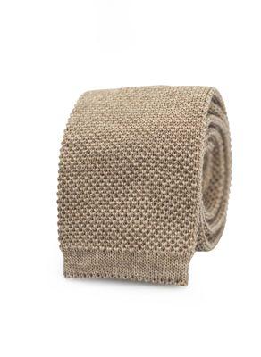Knitted merino tie