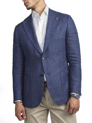 SOLID LINEN JACKET