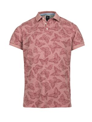 BUTTERFLY PRINTED POLO