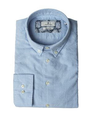 SHIRT BRUSHED OXFORD W E PATCH