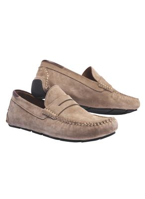 Suede car shoe