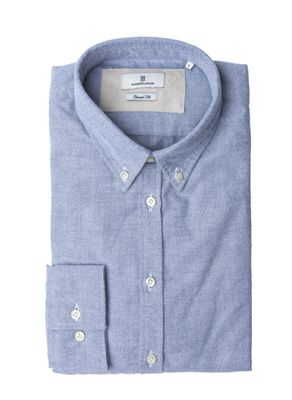 SANDPEACHED OXFORD SHIRT