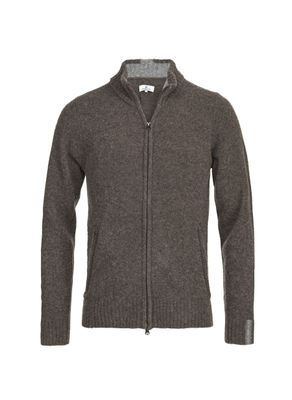 MOUSSE FULL ZIP CARDIGAN