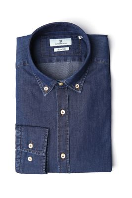 SHIRT, INDIGO DENIM, B.D.