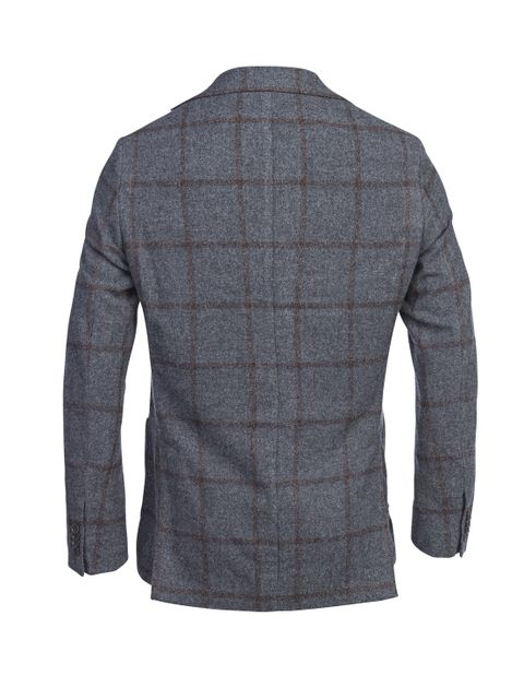 MOUSSE OVERCHECKED JACKET