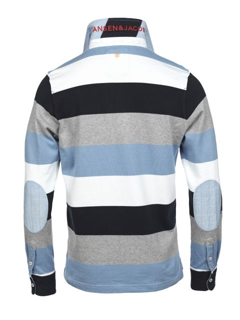BLOCK STRIPED RUGGER