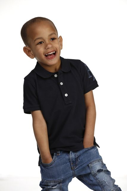 CHILDREN'S ROUGH STYLE POLO
