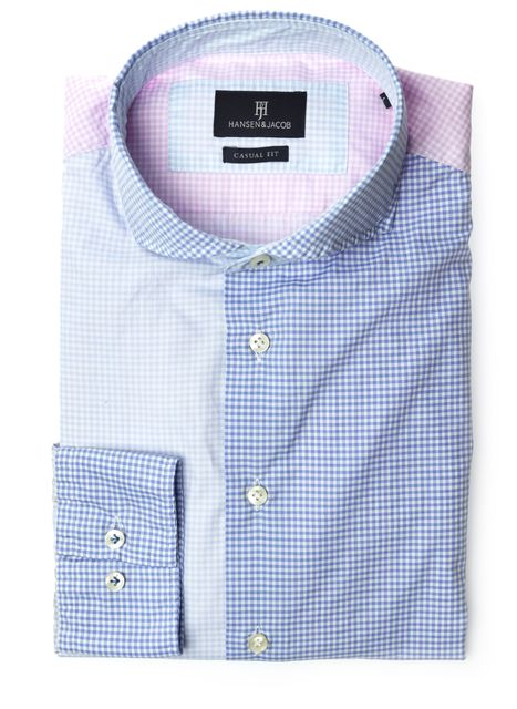 Shirt, Twill check