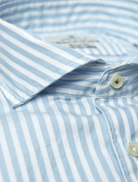SHIRT OXFORDSATIN STRIPE