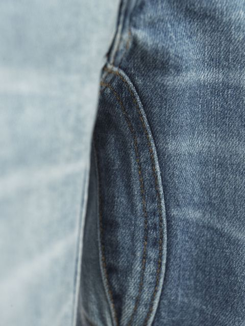 1/4 5-PKT CUT´N SEW DENIM