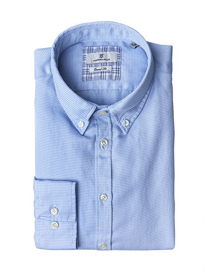 2-PLY TWILL CHECK SHIRT