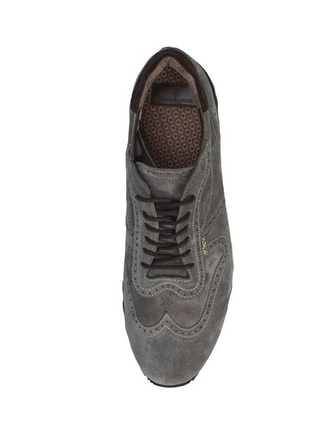 SUEDE BROGUE JOGGER