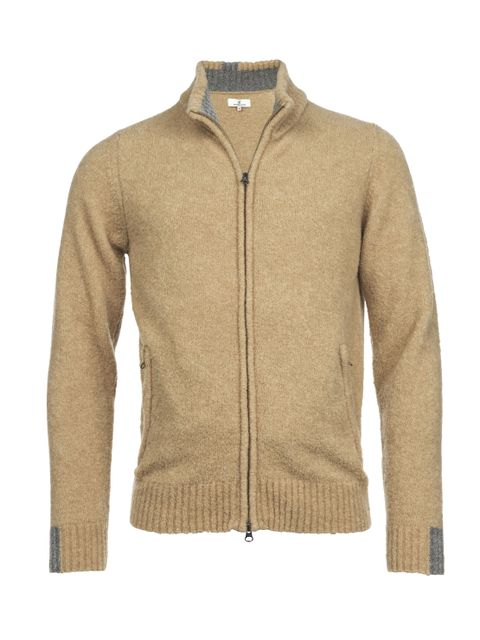 MOUSSE ZIP CARDIGAN