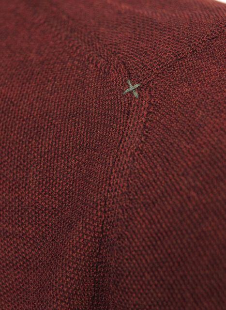 CREW NECK STRUCTURE KNIT