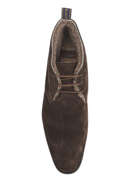SUEDE CHUKKA WITH PILE