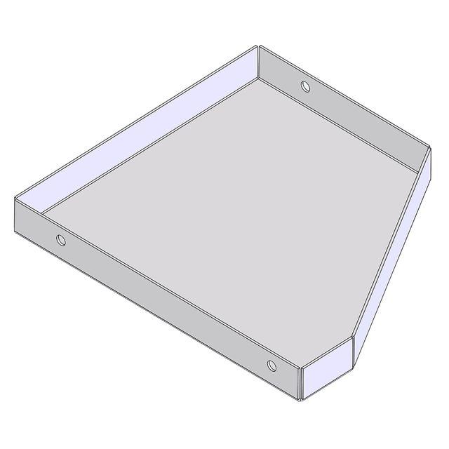 Ablagefach passend für Leiter (Links)