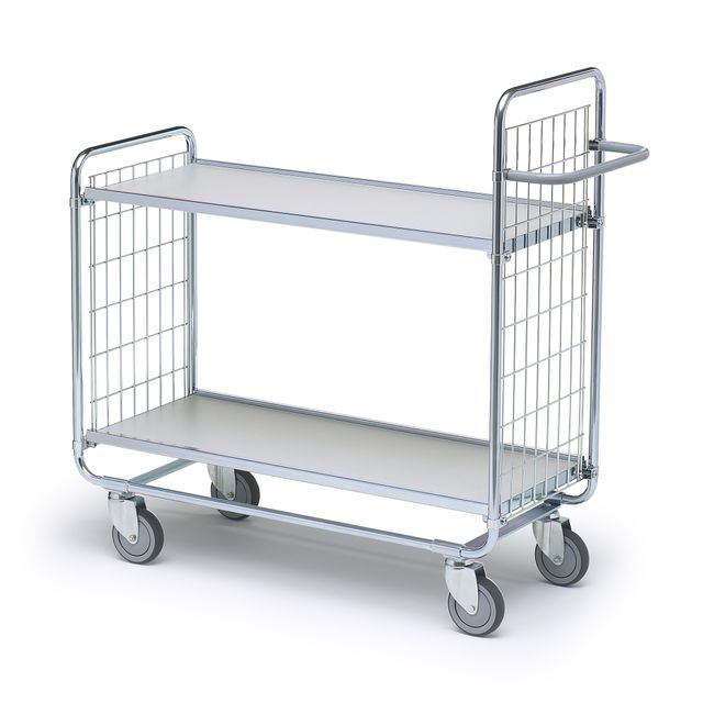 Shelf trolley 100 2 shelves