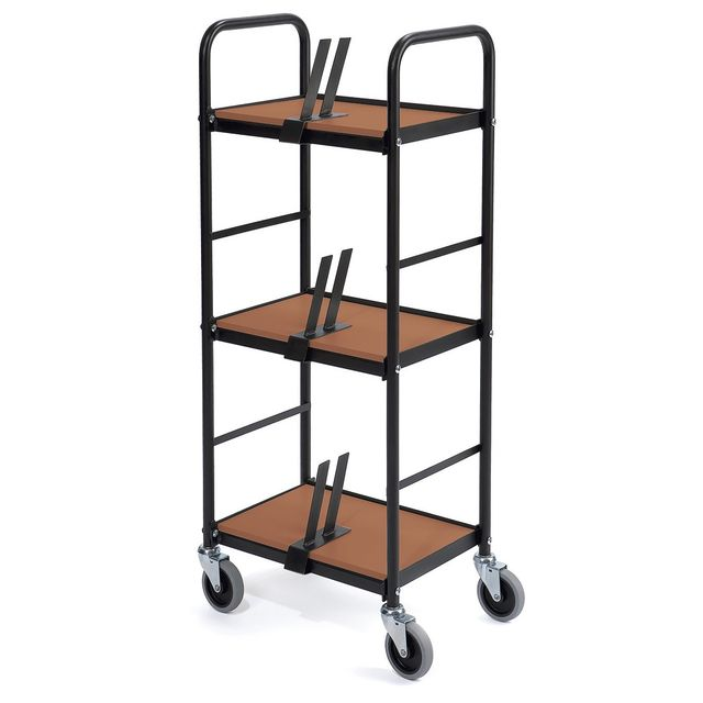 File trolley black