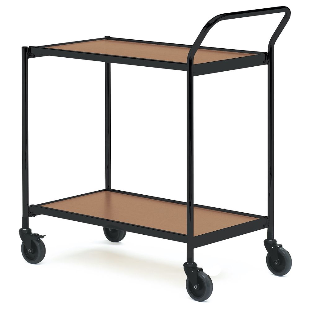 Table trolley with one handle