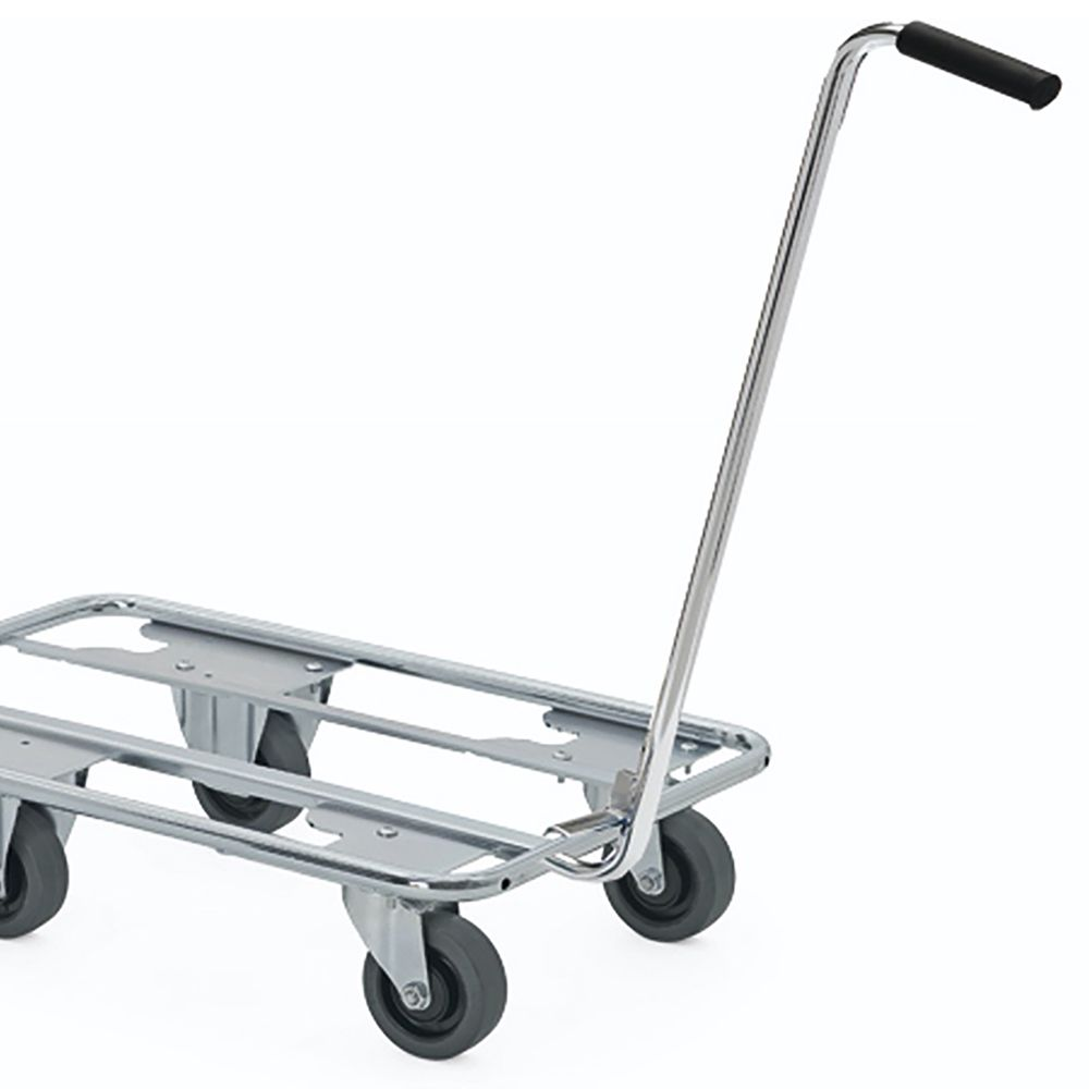 Tow bar for large dolly