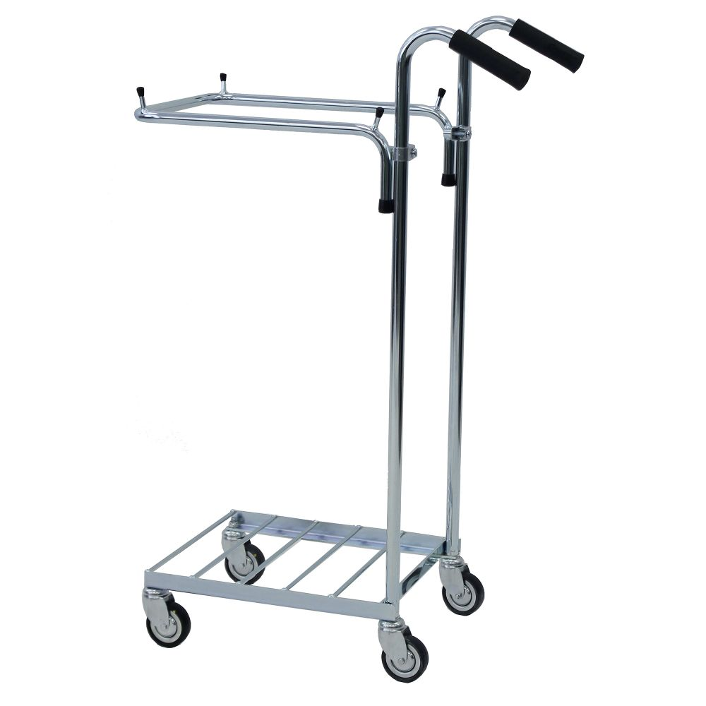 ESD refuse bag trolley with handles