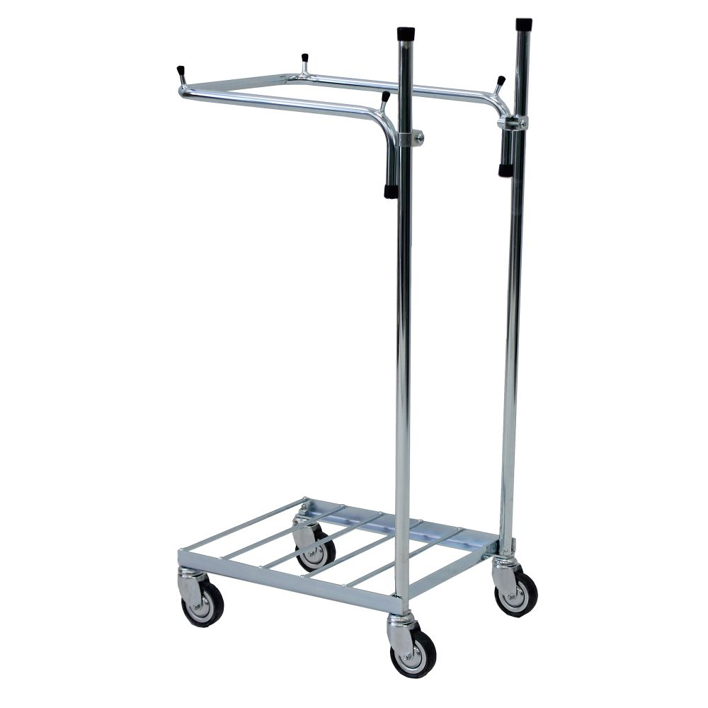ESD refuse bag trolley without handles