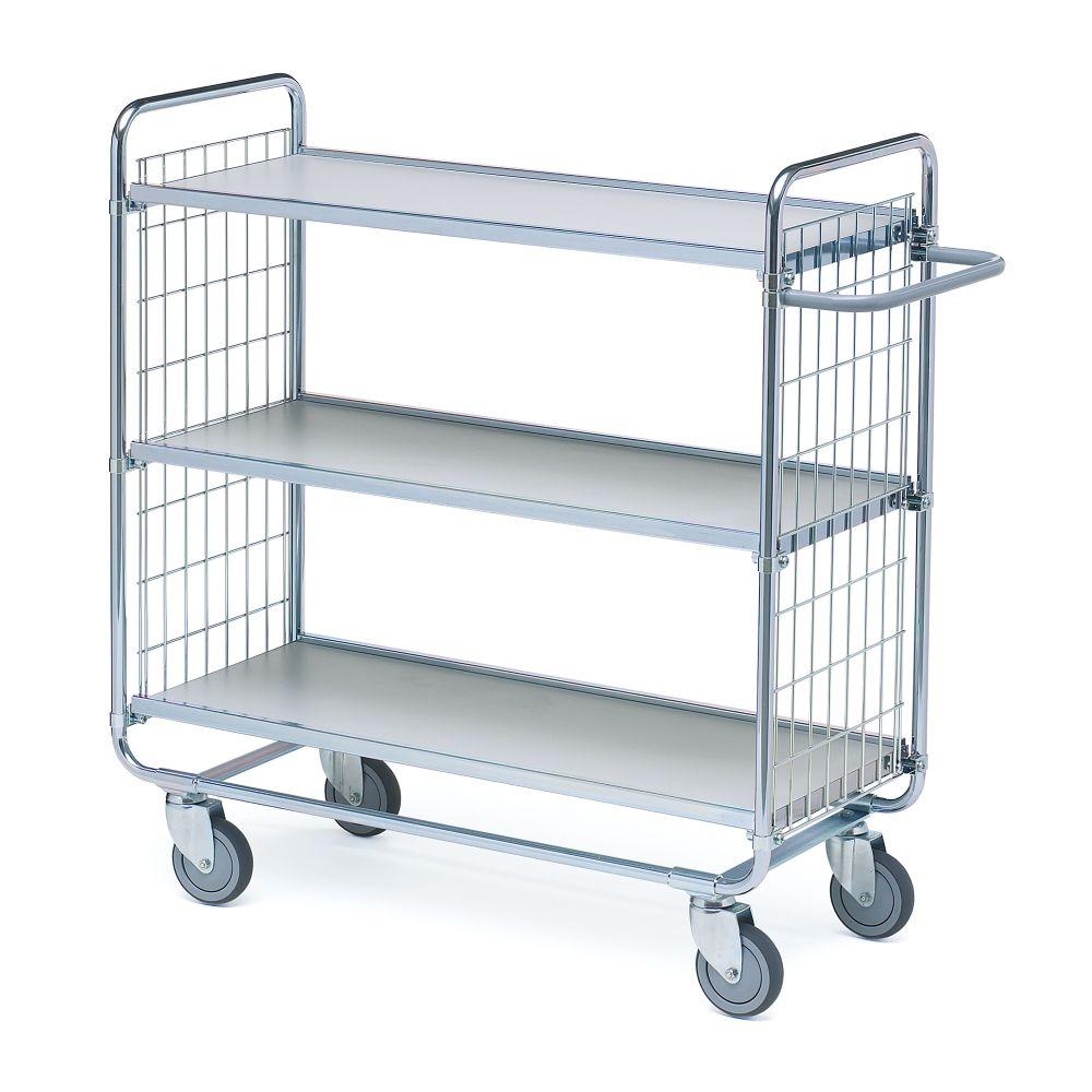 Shelf trolley 100 3 shelves