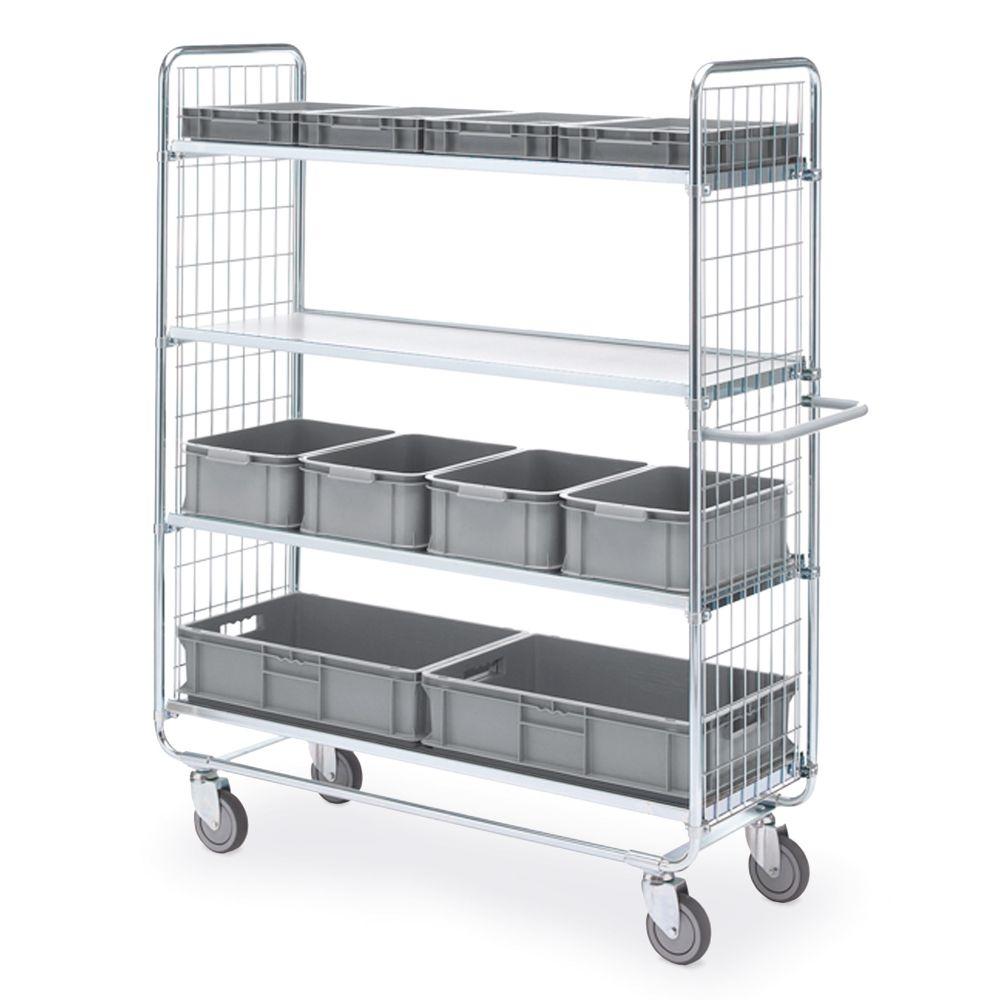 Shelf trolley 100 4 shelves