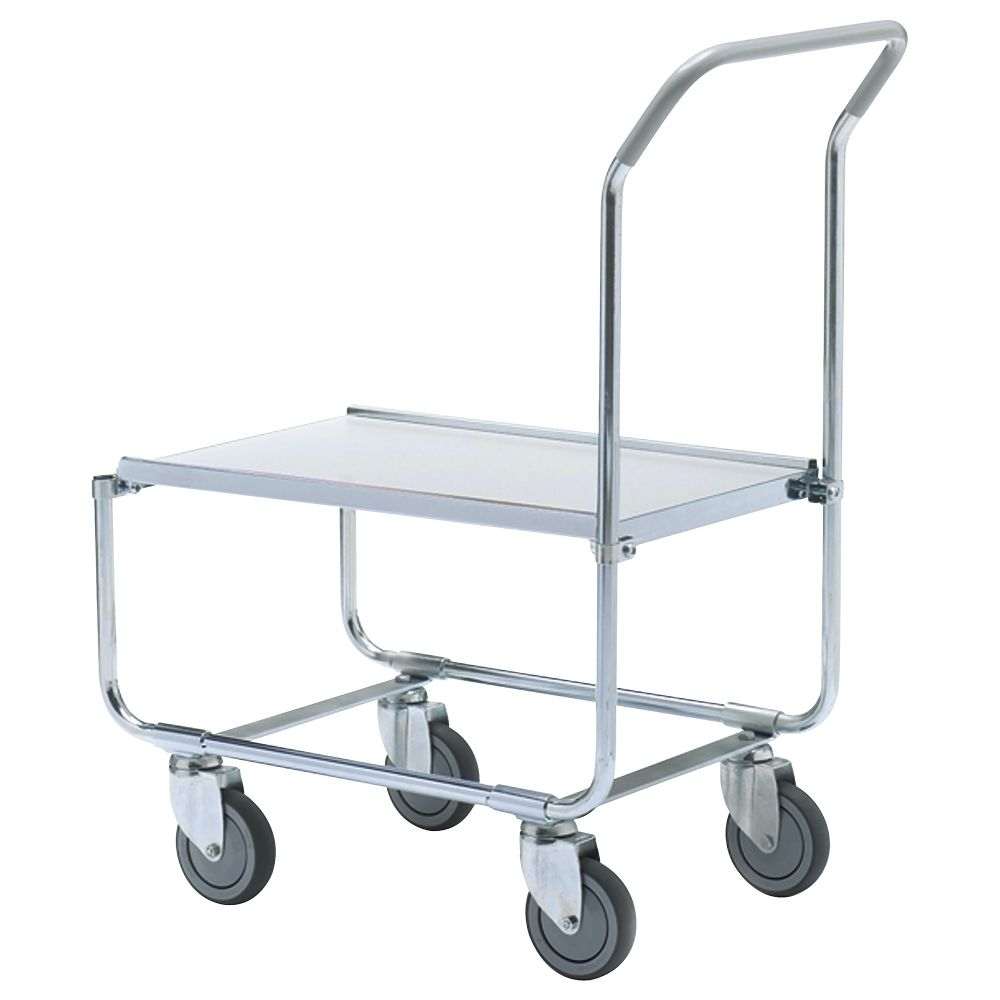 Extra high platform trolley