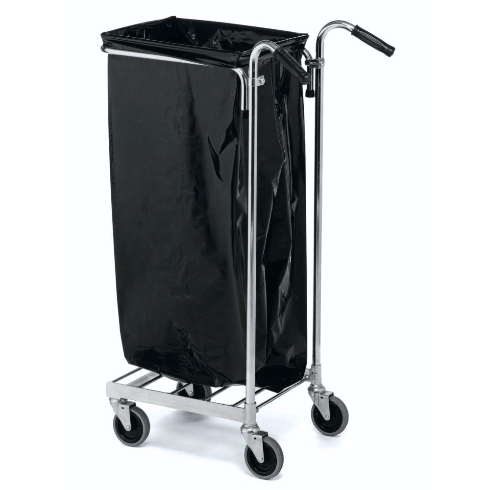 Sopsäcksvagn med handtag