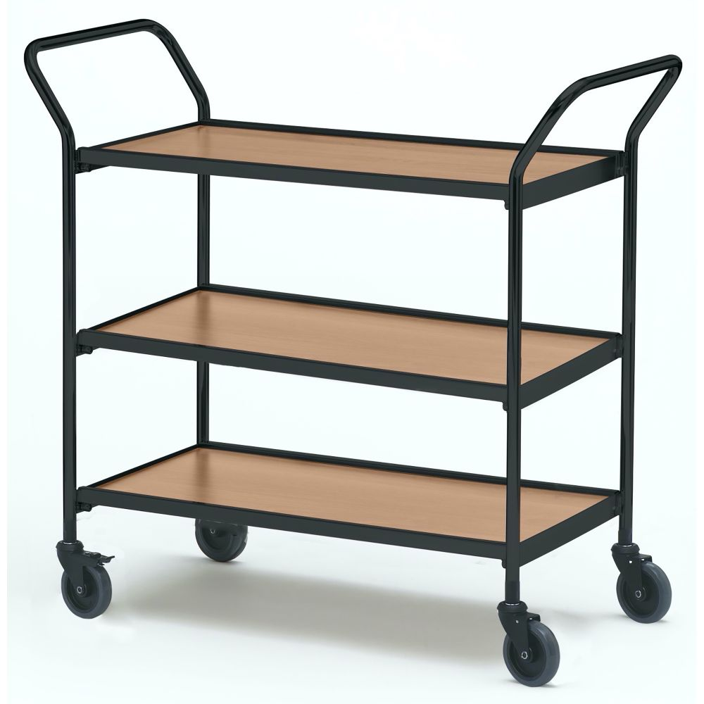 Table trolley with two handles